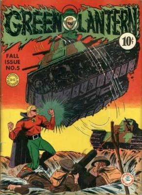 WW2 Green Lantern comic book values