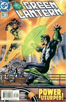 Origin and First Appearance, Nero, Green Lantern (vol. 3) #132, DC Comics, 2001. Click for value