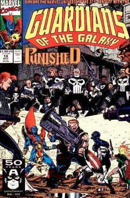 Origin and First Appearance, Talon, Guardians of the Galaxy #18, Marvel Comics, 1991. Click for value