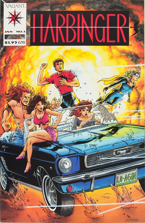 Hot Comics #76: Harbinger #1. Click to buy your copy!