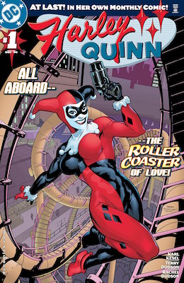 Harley Quinn #1 (2000) Harley's solo debut! Click for values