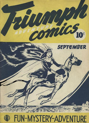 Triumph Adventures Comics #2