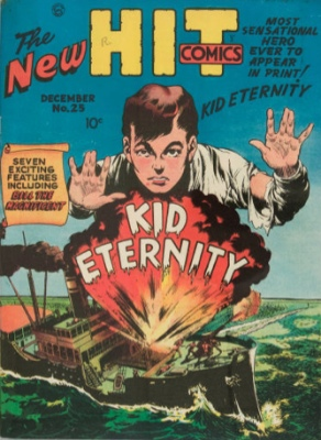 Hit Comics #25: Origin and First Appearance, Kid Eternity. Click to find out the value of this rare comic book