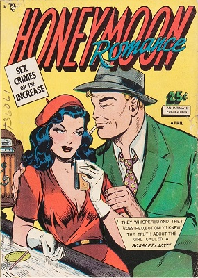 Honeymoon Romance #1: First issue of the series. Click for values