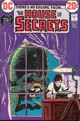 Click to see the value of the Michael Kaluta cover-art for House of Secrets #101