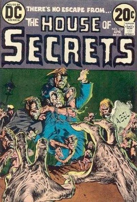 Click to see the value of the Bernie Wrightson cover-art for House of Secrets #107