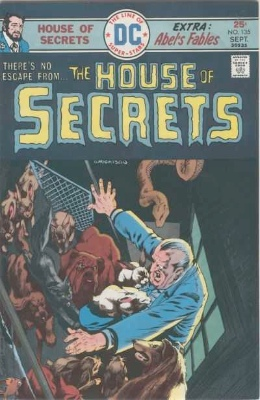 Click to see the value of the Bernie Wrightson cover-art for House of Secrets #135