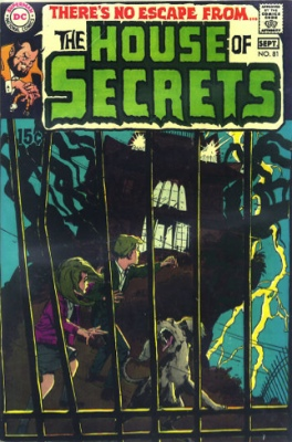 The House of Secrets #81: Introducing Abel. Click for value