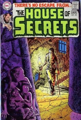 Click to see the value of the Neal Adams cover-art for House of Secrets #83