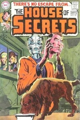 Click to see the value of the Neal Adams cover-art for House of Secrets #87