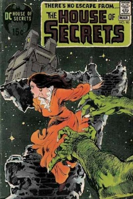 Click to see the value of the Neal Adams cover-art for House of Secrets #90