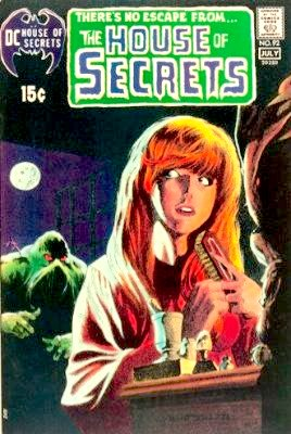 House of Secrets #92: first appearance of the Swamp Thing. Click for values