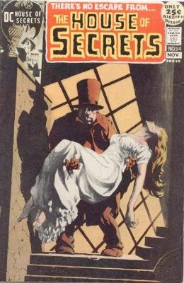 Click to see the value of the Bernie Wrightson cover-art for House of Secrets #94