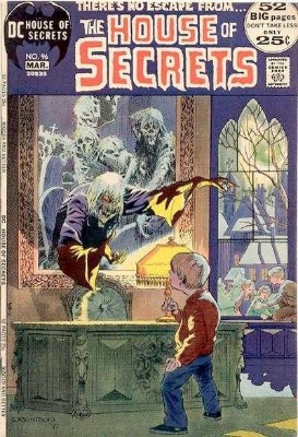 Click to see the value of the Bernie Wrightson cover-art for House of Secrets #96