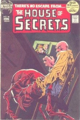 Click to see the value of the Michael Kaluta cover-art for House of Secrets #98