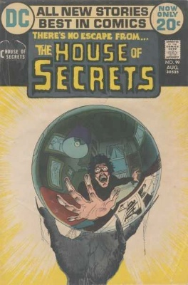 Click to see the value of the Michael Kaluta cover-art for House of Secrets #99