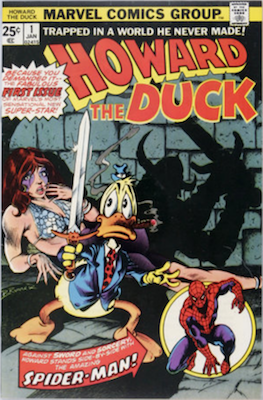 Howard the Duck #1 (1976): First Solo Comic. Click for values