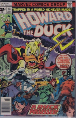 Howard the Duck #14 35 Cent Variant