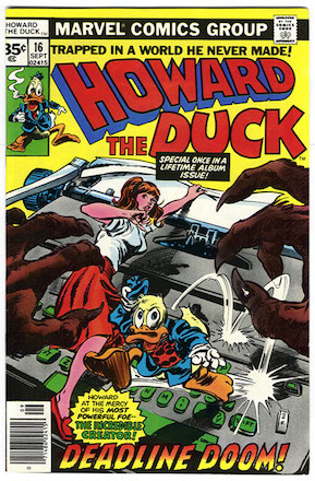 Howard the Duck #16 Marvel 35c Price Variant
