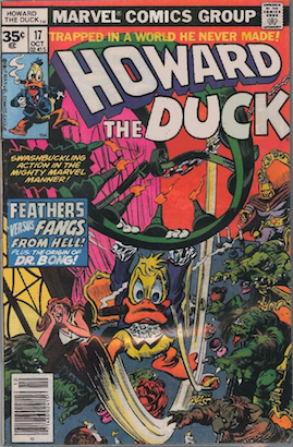 Howard the Duck #17 35 Cent Price Variant Edition