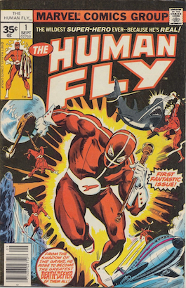 Human Fly #1 35 Cent Price Variant Edition