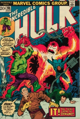 Zzzax (First Appearance: Incredible Hulk #166, August, 1973). Click for value