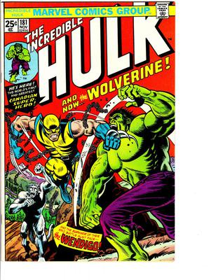 Incredible Hulk 181 Value?