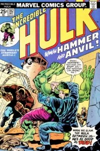 Incredible Hulk #182, the second brief appearance of Wolverine