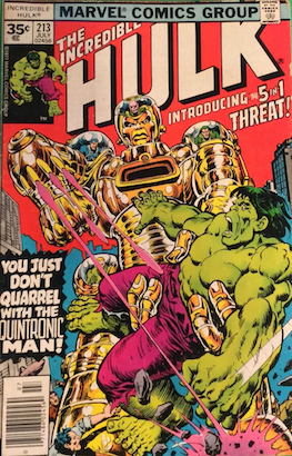 Incredible Hulk #213 Marvel 35c Price Variant