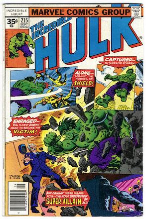 Incredible Hulk #215 35c Variant Edition