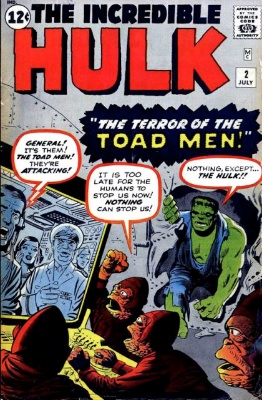 Incredible Hulk #2 (1962). Click to see values