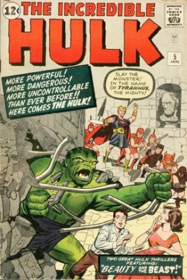 Incredible Hulk #5 (1962). Click to see current values