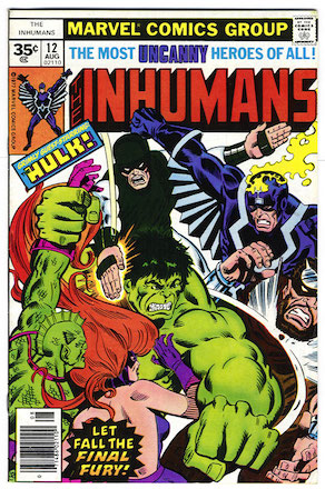 Inhumans #12 Marvel 35c Variant