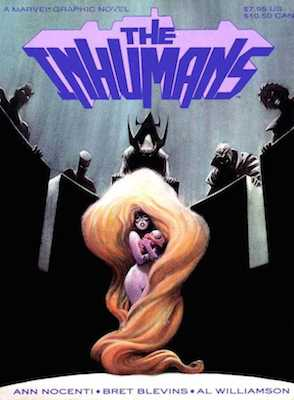 First appearance of Ahura: Marvel Graphic Novel, The Inhumans. Click for value