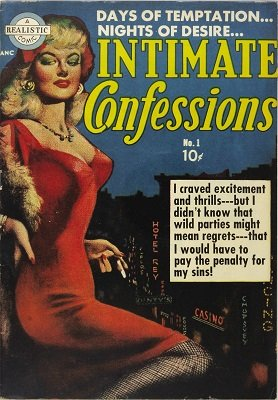 Intimate Confessions #1: First issue of the series. Click for value