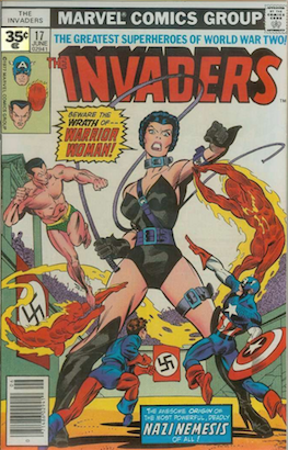 Invaders #17 Marvel 35 Cent Variant