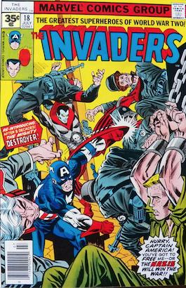 Invaders #18 35c Variant