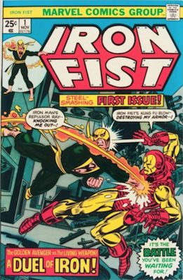 Iron Fist #1 (1975): First in New Series after Marvel Premiere. Click for value