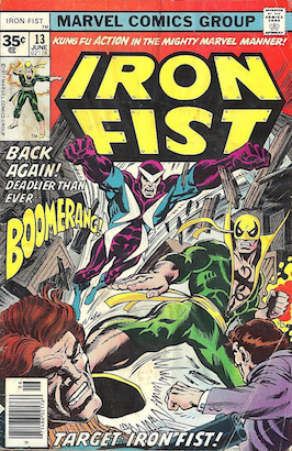 Iron Fist #13 35 Cent Variant
