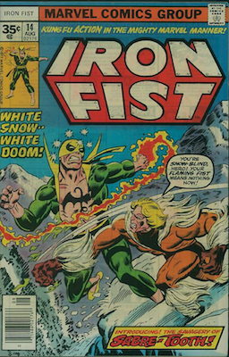 Iron Fist #14: Rare 35c Price Variant. Click for value