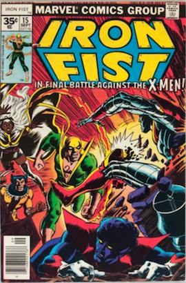 Iron Fist #15 35c Price Variant