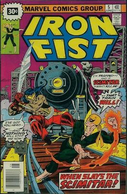 Iron Fist #5 30c Variant June, 1976. Price in Starburst