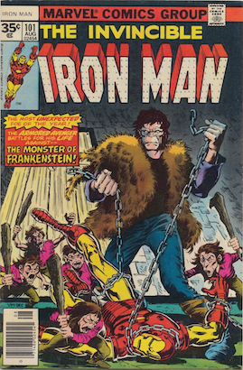 Iron Man #101 Marvel 35 Cent Variant