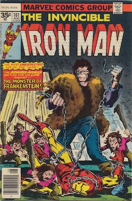 Iron Man #101 Marvel 35 Cent Variant