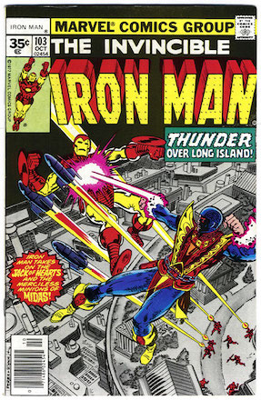 Iron Man #103 Marvel 35 Cent Variant
