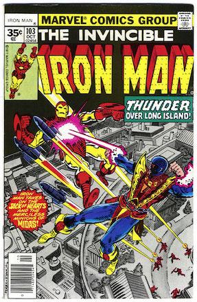 Iron Man #103 Marvel 35 Cent Variant