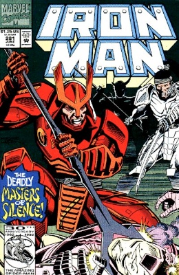 Iron Man #281, 1st War Machine. Click for values