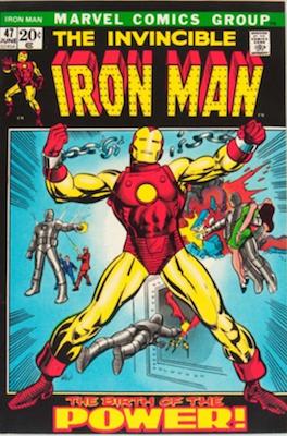 Iron Man #47, Origin Story Retold. Click for values