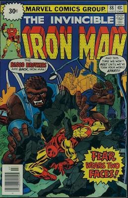 Iron Man #88 30c Price Variant July, 1976. Starburst Flash