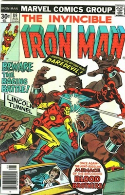Iron Man #89 30c Price Variant August, 1976. Regular Price Box